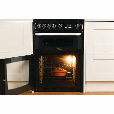 Cannon by Hotpoint • CH60GCIK • Gas Cooker with Gas Hob |  60cm | Black