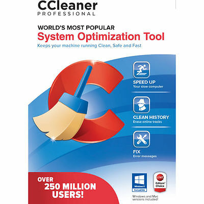 CCleaner Professional  Lifetime Licence For 1 Computer Ref FUR8