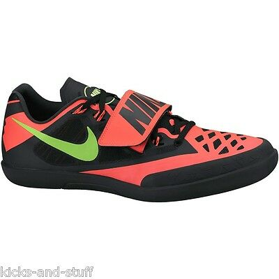 Nike Zoom Rival SD 4 Shot Put Discus Throw Track & Field Shoes Sz 8 Black 9.5