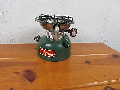 Coleman 502 single burner stove working dated 6-66 Very clean for age Great
