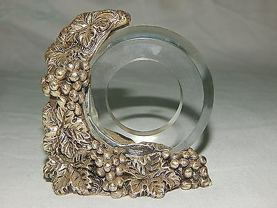 Un'idea Vestita D'argento silver(?) silver plated with napkin ring