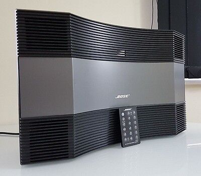 Bose Acoustic Wave Music System Cd-3000 Compact Mint Cond Graphite/silver Rrp799