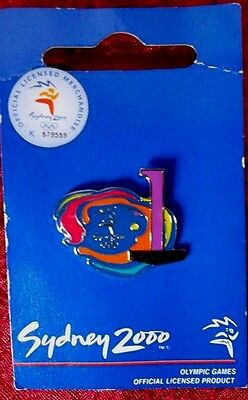 Sydney 2000 Olympic Games Count Down Pin - 1 Days To Go Badge