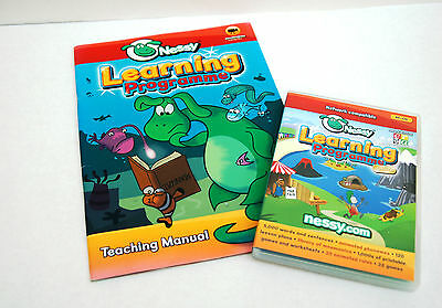Nessy Learning Programme Deluxe Dyslexia Spelling, Reading, Writing & Manual