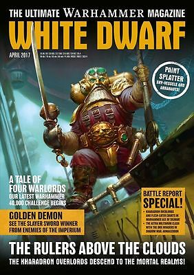 White Dwarf Magazine April Issue 2017 (new)