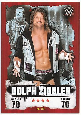 Topps WWE Slam Attax Takeover Map Nr.116 Dolph Ziggler