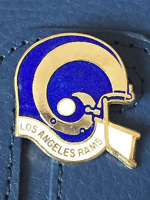 Vintage Los Angeles Rams helmet style metal badge