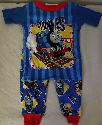 Baby Boys Pyjamas 9-12 Months Thomas Tank Engine & Friends BRAND NEW