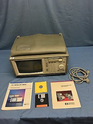 Hp 1650A Logic Analyzer With Pouch and System Disc TESTED