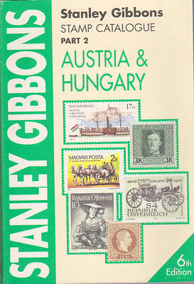 SG Stamp Catalogue Austria & Hungary Part 2 6th Edition 2002