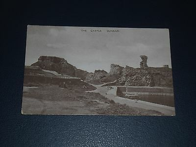 Postcard The Harbour & Castle Dunbar, Unused