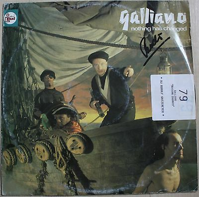 """Galliano - Nothing has changed GER OG 12"""" PC (#04156)"""