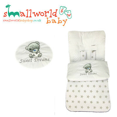 Personalised Boys Girls Tatty Teddy Footmuff Cosytoes (NEXT DAY DISPATCH)