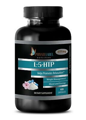 5-Htp Energy - L-5-HTP 377mg. - May Reduce The Number Of Tender Points 1B