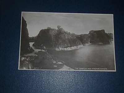 Postcard The Castle & Harbour Entrance Dunbar, Unused