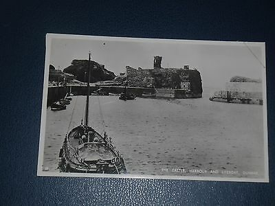 Postcard Lifeboat In Dunbar Harbour, Unused