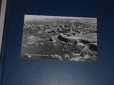 Real Photo Postcard Dunbar From The Air, Unused