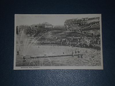 Postcard Bathing Pool Dunbar, Unused