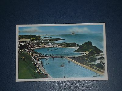 Postcard Pool And Boating Pond Dunbar