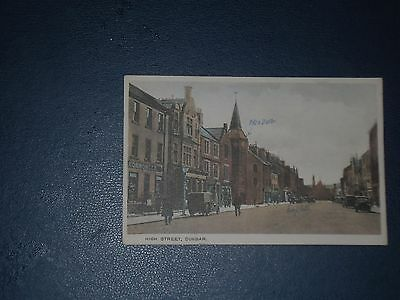 Postcard  Dunbar High Street, Unused