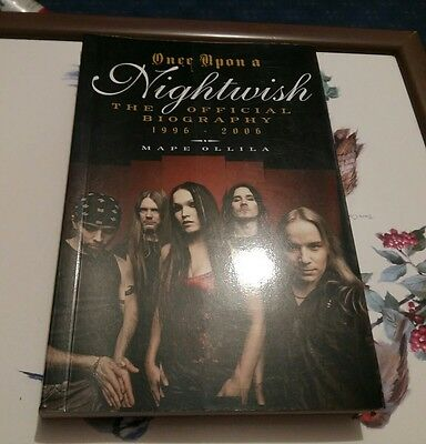 Once upon a Nightwish: The Official Biography 1996-2006, Mape Ollila Paperback