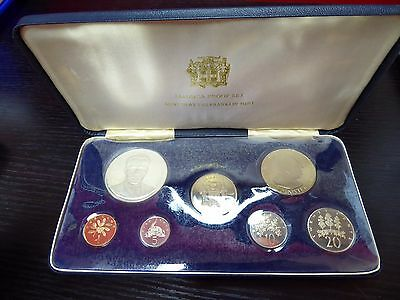 1971 Jamaica 7-Coin Proof Set *Franklin Mint* Sterling Silver-Nickel-Bronze COA
