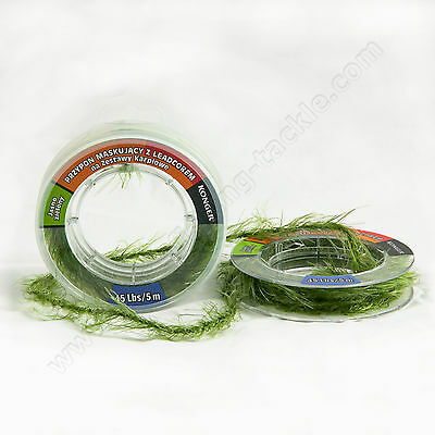 Leadcore Leaders Camo Weed Effect Rigs 25 35 45lb Carp Chod Fishing Tackle Line