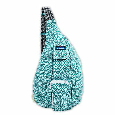 Kavu Rope Bag - Teal Quilt