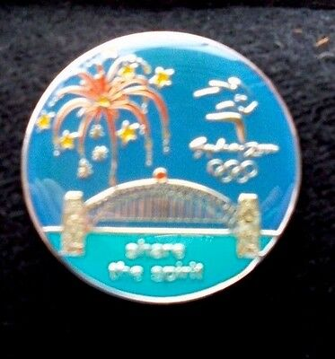 Sydney 2000 Olympic Games  Share The Spirit Pin Badge
