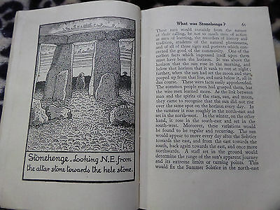 1924 Excellent Reference Bk Stonehenge & All Its Fascination  How & When Built