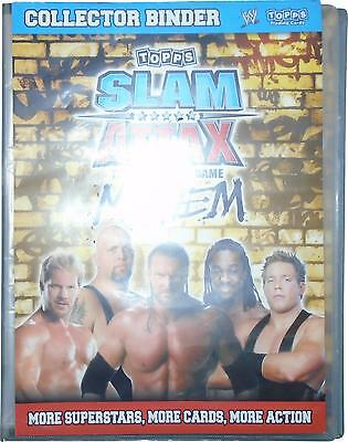 USED Topps WWE Slam Attax Mayem Collector Bider & 162 Cards (D.T)