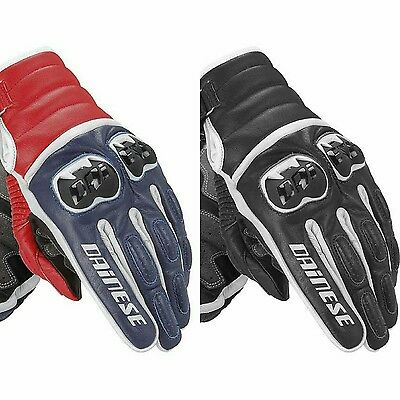 Dainese Veloce Frazer Short Leather Motorbike Motorcycle Gloves