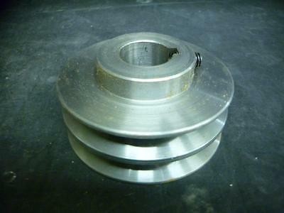 NEW Electron 2AC35 1 Dual Groove Crank Pulley