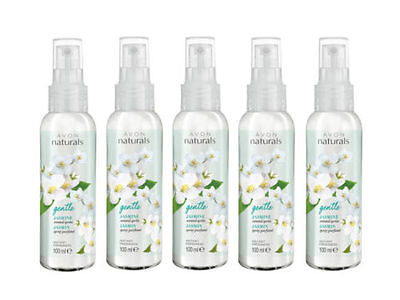 5 X Avon Naturals Fragrance Spritz 100Ml Room Spray Jasmine
