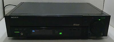 Rare 1988 Sony Mdp-700 Laserdisc/cd/cdv Player For Repair Or Parts Japan