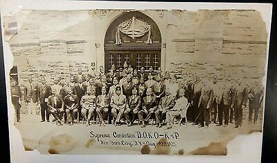 Rare Original 1923 Photograph African-American Knights of Pythias Convention NYC