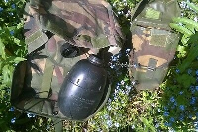 British Army Osprey RESPIRATOR POUCH, BOTTLE  AND POUCH.  JOB LOT - 3 ITEMS