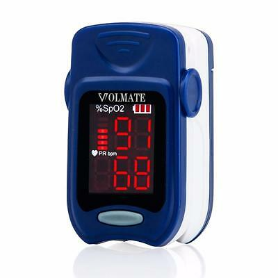 Volmate Fingertip Pulse Oximeter Oximetry Blood Oxygen Saturation Monitor FDA