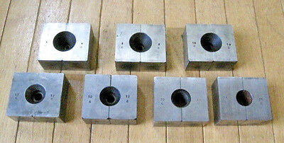 Vintage (7) Pc. Machinist Screw Molds - Re-Threading, Dies, Manufacturing