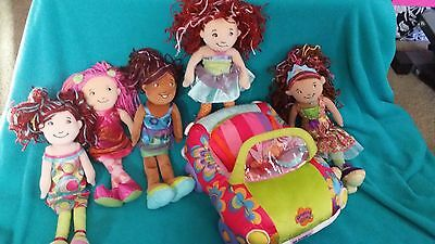 Groovy girls plush doll Party Night on Town with Car