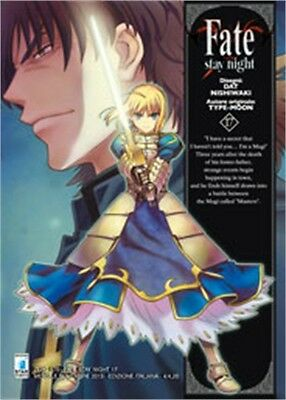 SC0718 - Manga - Star Comics - Fate Stay Night 17 - Nuovo !!!