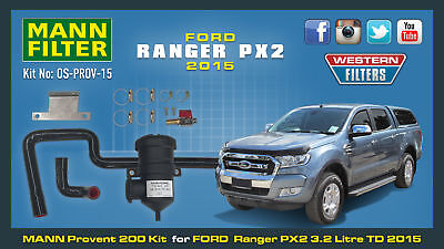 New ProVent Oil Catch Can Kit for Ford Ranger PX2 3.2L 5Cyl TDCi Pro Vent