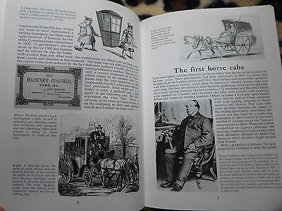 Horse Cabs Illustrated History Makes Styles Drivers Uniform Builders Vgc Book