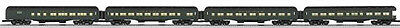 lionel #25713 New York central 20th century heavyweight 4 pack passenger car set
