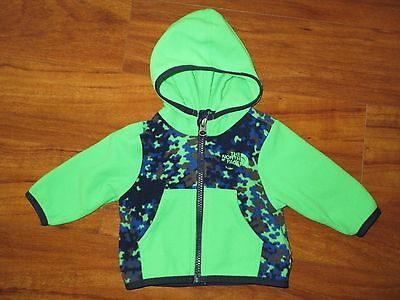 Boys baby North Face fleece jacket 0 3 months