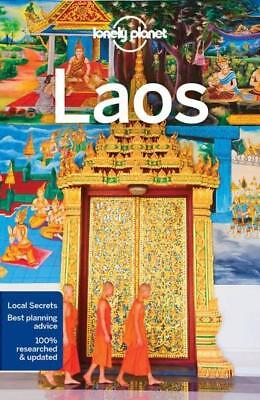 NEW Laos By Lonely Planet Travel Guide Paperback Free Shipping