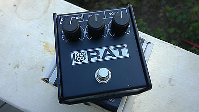 Proco Rat pedal Limited Edition Whiteface Reissue