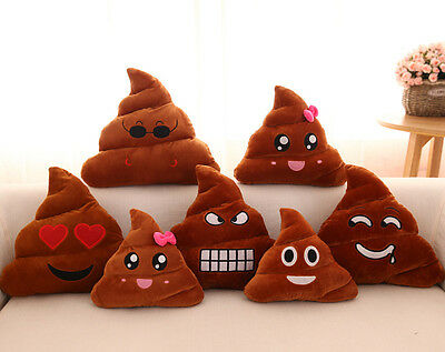 Poop Poo Family Emoji Emoticon Pillow Stuffed Plush Toy Soft Cushion Doll#4