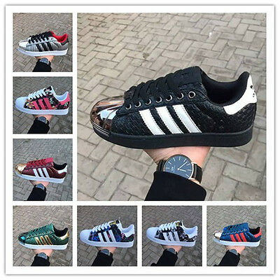 2017 NEW sport shoes man Men's Striped Running Shoes Sneakers Superstar Trainers