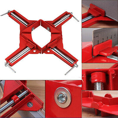90 Degree Adjust Right Angle Clamp Frame Carpenter Picture Woodwork Tool